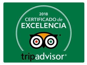 Disfruta del Sella tiene el certificado de excelencia Trip Advisor por las opiniones de sus clientes