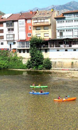 La bajada del Sella en canoa - alquiler de canoas en Ribadesella